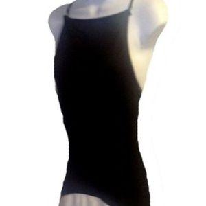 Dresses & Skirts - Black/White Maxi Tank Formal Dress  Size: 10 (M) L